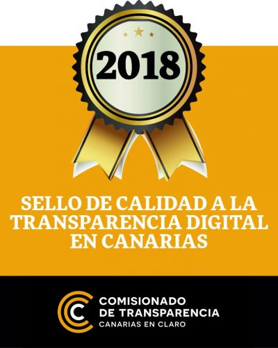 Sello de Calidad a la Transparencia Digital en Canarias