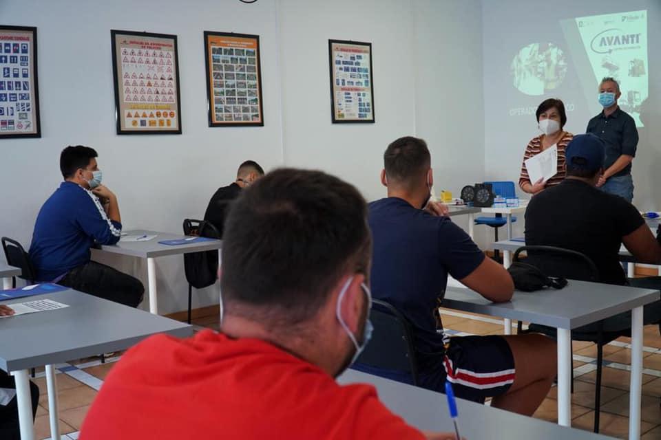 Presentación de la formación en el sector logístico